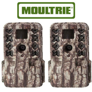 2-Pack-Moultrie-M-40-Game-Trail-Camera-MCG-13181-Infrared-16MP-M40-Camo-Bark