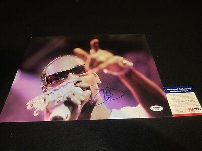 Photographs Snoop Dogg Signed 11x14 Photo Psa/dna West Coast Rap Legend Dre Rare 4