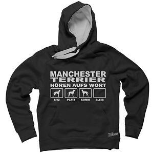 di la Terrier Felpa parola Ascolta Manchester cappuccio Siviwonder Felpa con 1C7a4