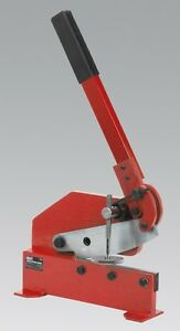 SEALEY 3S/6R METAL HAND SHEAR CUTTER CROPPER 13mm ROUND 6mm Cutting