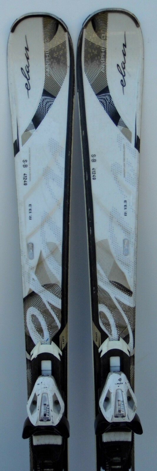 Skis parabolic used Woman ELAN Inspire Fusion - 59 13  16in & 65 3 8in  save up to 70%