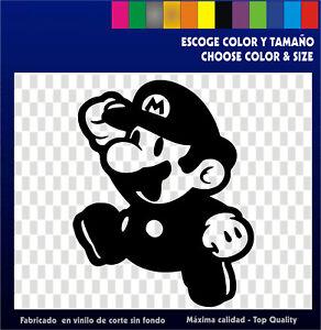 Sticker-Vinilo-Mario-Bros-Arcade-Bartop-Custom-Pegatina-Vinyl-Nintendo-Custom