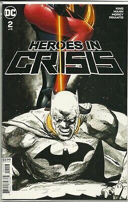 DC COMICS//2019 HEROES IN CRISIS #9 CLAY MANN ART /& MAIN COVER
