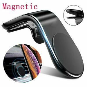 Magnetic-In-Car-Phone-Holder-Stand-Air-Vent-Mount-L-Shape-For-iPhone-Samsung-GPS