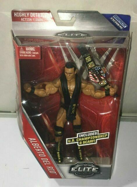 *LOOSE* Mattel WWE Elite ALBERTO DEL RIO Series 43 Smack Down Action Figure