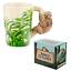thumbnail 31 - Animal Shaped Handle Ceramic Mug Tea Coffee Cup Novelty Gift Jungle Tropical