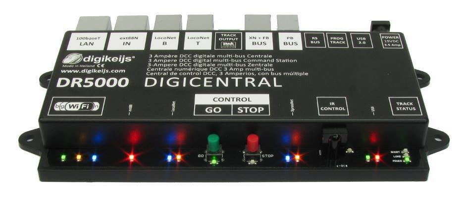 Digikeijs DR5000 DCC Comuomod Station,  energia Supply & WiFi Throssotle  estrellater Set  senza esitazione! acquista ora!