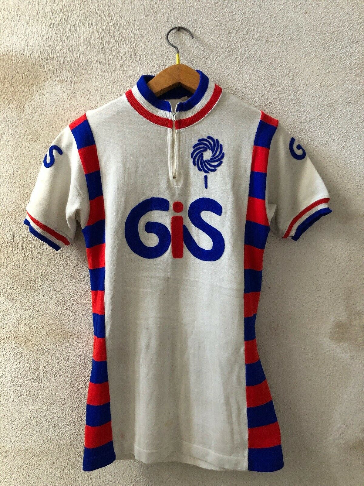 Maglia Cycling Jersey Cucles GIS vintage 70-80s Tg 3