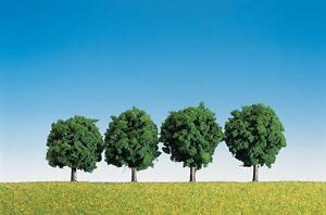 Faller-181412-Gauge-H0-4-Deciduous-Trees-New-Original-Packaging