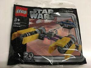 LEGO-Star-Wars-POLYBAG-30461-Podracer-20-Jahre-Star-Wars-Jubilaeumsedition-NEU