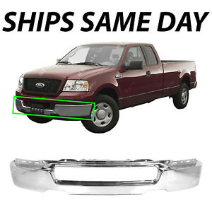 NEW Chrome Steel Front Bumper Face Bar Shell for 2004-2006 Ford F150 F-150 Truck