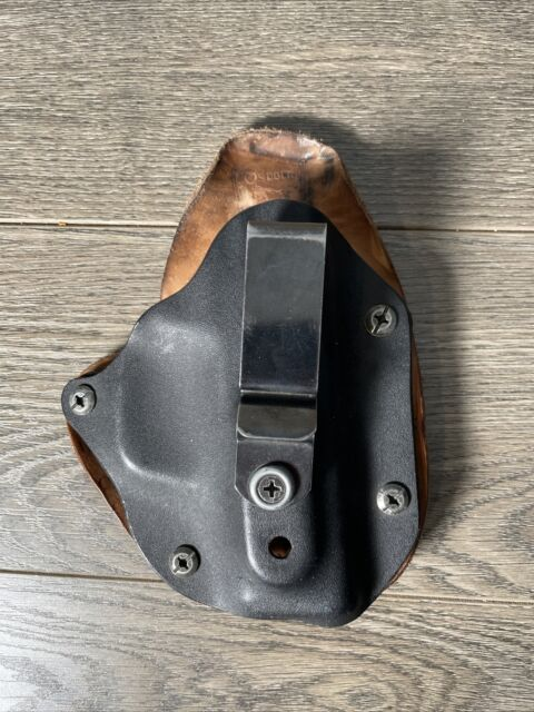 Osborne IWB Holster - S&W M&P Shield 9mm - Hybrid Kydex And Leather