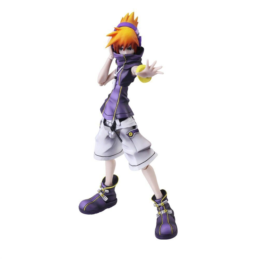 The World Ends With You Final Remix apporter Arts Fioritures Neku figurine avec t