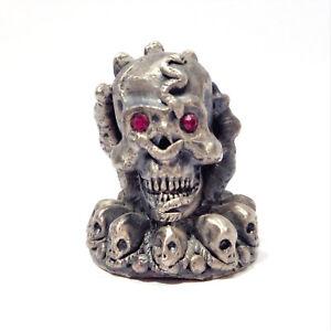 MYTH-AND-MAGIC-034-Keeper-of-the-Skulls-034-3554-Figura-Miniatura-Vintage-1994