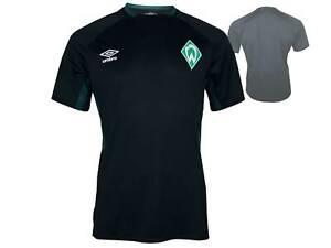 Umbro-Werder-Bremen-Shirt-Training-schwarz-SVW-Fussball-Trikot-Fan-Jersey-S-XXL