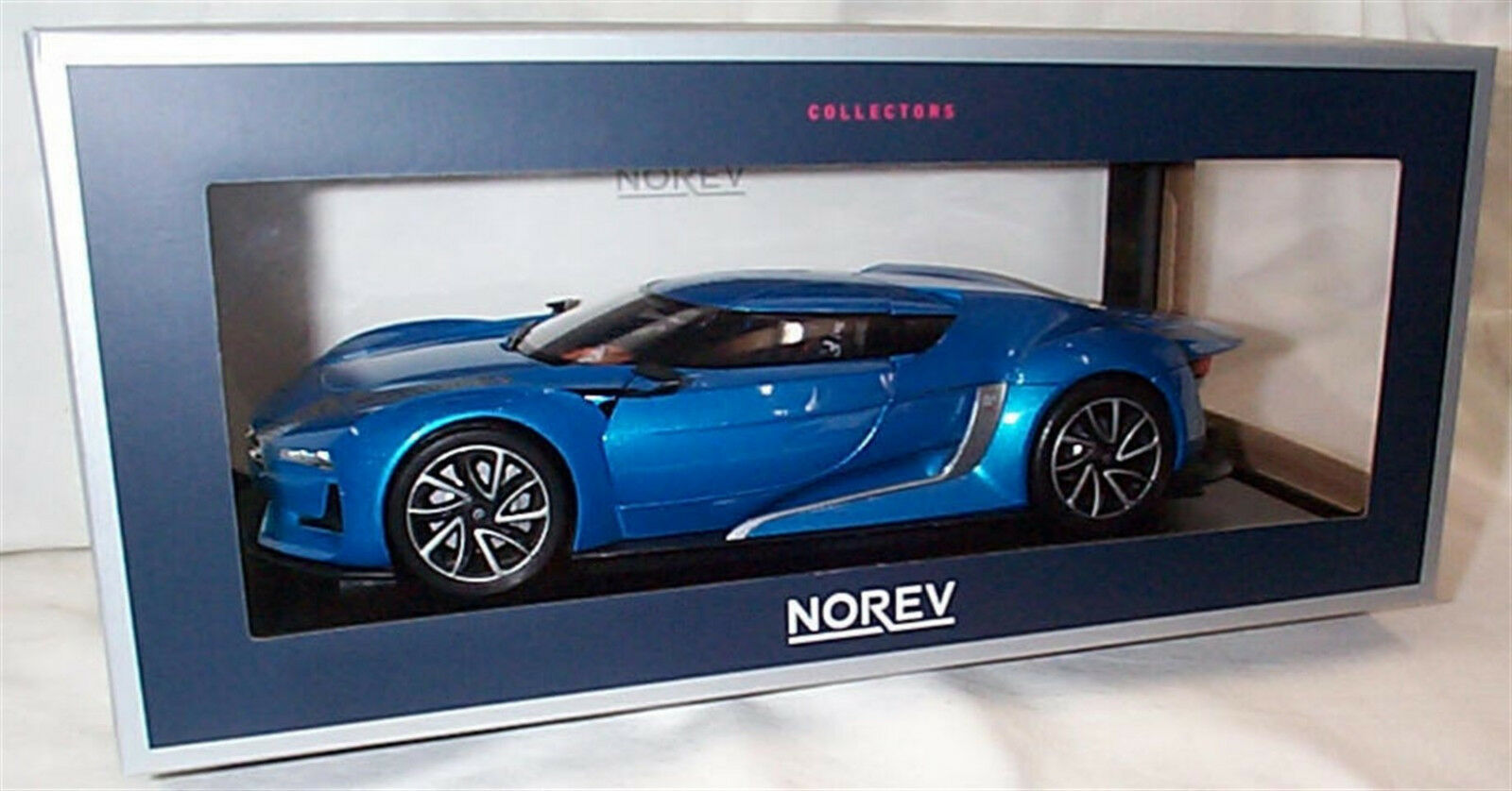 Gt by Citroën Salon Paris 2008 Electric bleu 1 18 - 181613 NOREV