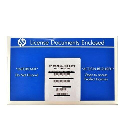 HP iLO Advanced LicenseiLO 3 iLO 5ALL HPE SERVERSFAST SHIP iLO 4