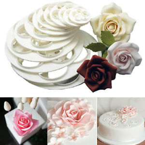 6PC-Fondant-Cake-Sugarcraft-Cookie-Rose-Flower-Decorating-Mold-Paste-Cutter-Tool