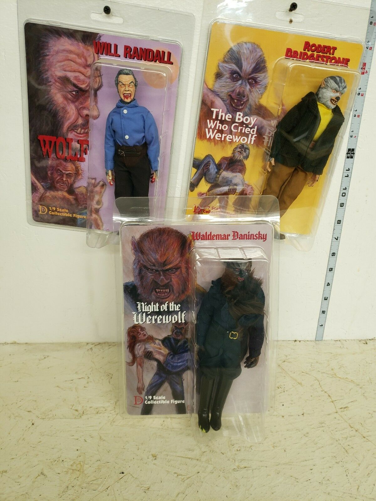 Distintivo Dummies Wolf Pack se Waldemar Robert figura