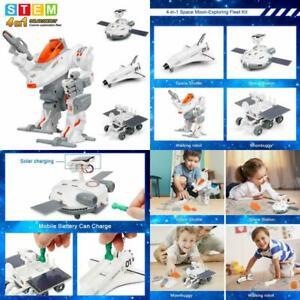 Sillbird Stem 4-In-1 Solar Science Robot Kit For Kids ...