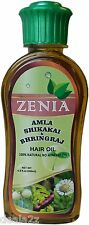 200ml Zenia Amla Shikakai Bhringraj Hair Oil 100% Natural Stop Loss hairfall