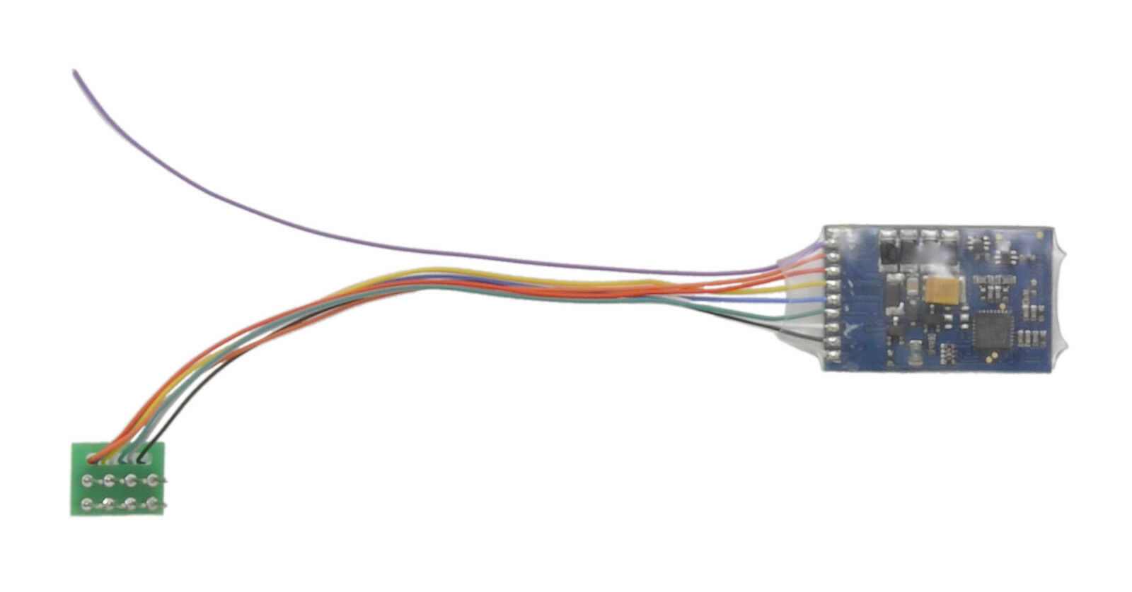 DCC Decoder 8-pin 4-function 1A with back EMF Bachmann 36-555