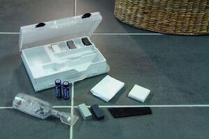 fliesen stein keramik bohrloch reparatur set reparaturset 14 teilig ebay. Black Bedroom Furniture Sets. Home Design Ideas