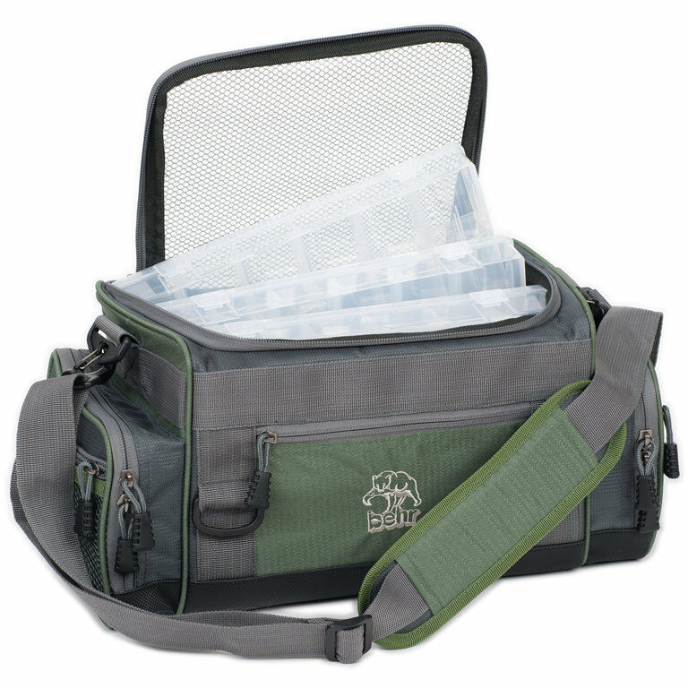Behr Trendex Baggy 7 - Fishing Bag MIT 4 Boxes System Bag Accessory Bag