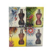 Jean Paul Gaultier Classique Eau D'Ete Summer Fragrance Miniatures 4 Piece SET