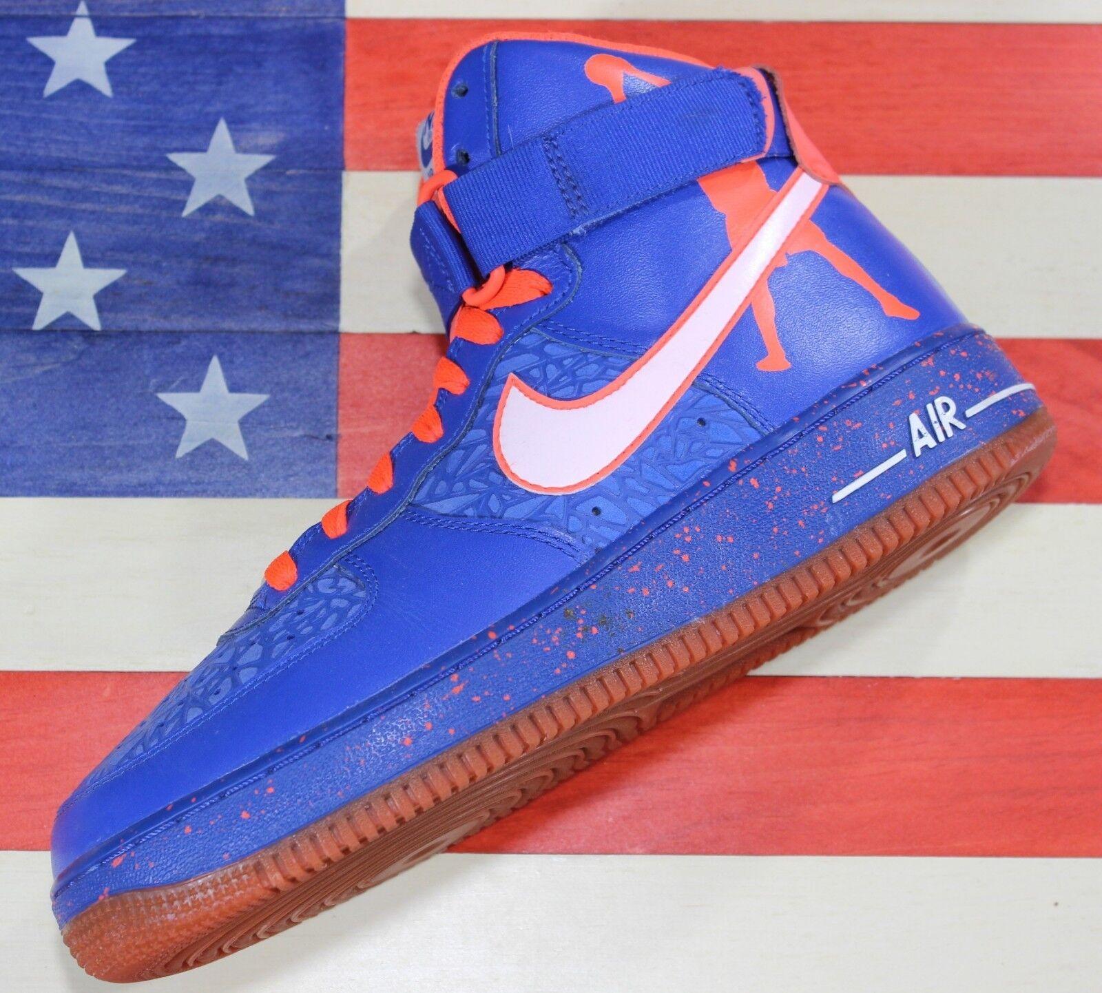 Nike air force 1 hi rasheed wallace scarpa blu arancione basket scarpa wallace (624185-400] 8 c7e0e4