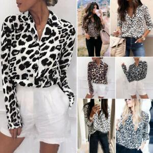Women-Plus-Size-Leopard-Print-Long-Sleeve-Shirt-Tops-Ladies-Loose-Blo-rs