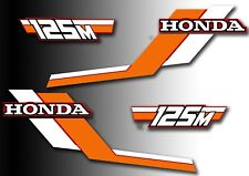 ATC 125m Honda Custom Stickers Set Vintage Trike 1984 Sticker/Decals