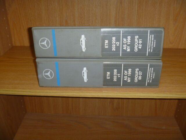 1998 2000 Mercedes Benz C230 C280 C43 Amg Electrical Wiring Diagram Manual 1999 Ebay