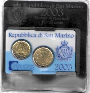 Saint Marin - San Marino 2003 Mini set Euro 20 - 50 cent