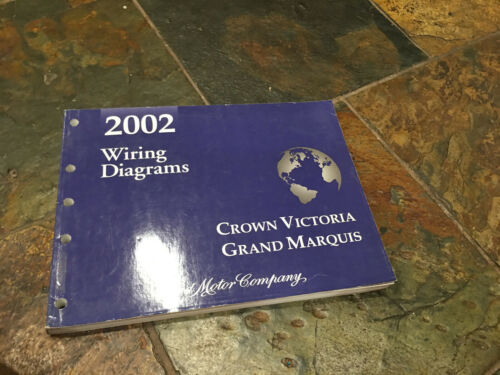 2002 Ford Crown Victoria Grand Marquis Wiring Diagrams Electrical Service Manual