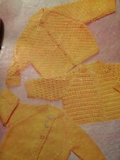 Baby Buttom Up Cardigan , Plain Coat And Jacket Quick Knit Knitting Pattern