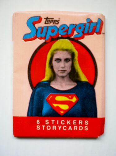Topps /' Supergirl  /'  Sealed Unopened Wax Packet 1984