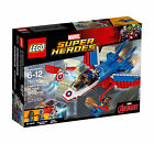 LEGO Marvel Super Heroes Captain America Jet Pursuit 2017 (#76076)