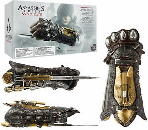 2019 For Ac 4 Black Flag Cosplay Weapons Edward Gauntlet With Hidden Blade Secrete Action Figure Model Toy With Box Costume Props Costumes & Accessories