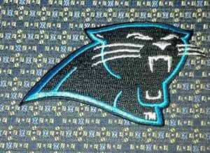new style 7b7cb ee3c0 Details about NFL CAROLINA PANTHERS Iron or Sew-On Patch