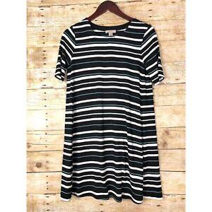 Loft Factory Stripe Rayon T Shirt Dress In Small Xsp Ebay