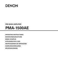 Denon pma-1500ae amplifier service manual download download manua.