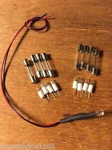 2270-INCANDESCENT-8V-250mA-LAMP-KIT-VINTAGE-RECEIVER-DIAL-METER-Marantz-LIGHTS