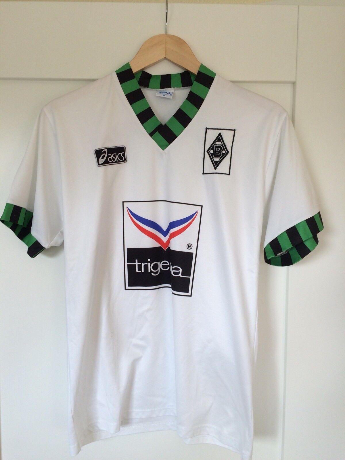 Borussia Mönchengladbach Trikot von ASICS, Trikotsponsor Trigema, Gr. S