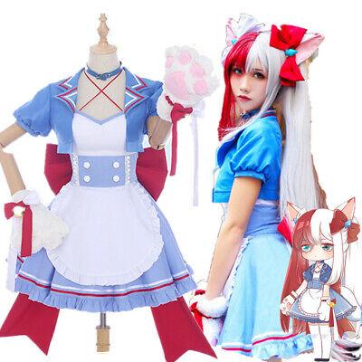 My Hero Academia Todoroki Shoto Genderbend Maid Uniform Dress Cosplay Costume Ebay