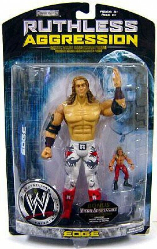 Ruthless Aggression Series 29 Edge Action Figure [With Micro Aggression Figure]