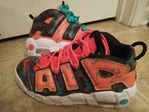 Boys-Nike-Air-Max-Uptempo-96-Athletic-Basketball-Shoes-Size-5-5-Y-Nice