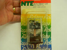 NTE Relay R10-11D10-24 DPDT 10A-24VDC General Purpose RLY1943 New