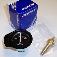 1981 - 1982 Corvette Oil Temperature Gauge. Comes With Sending Unit