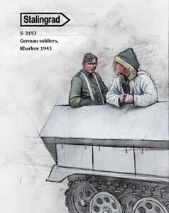 1-35-Scale-Resin-Figure-kit-WW2-German-soldiers-Kharkov-1943-3-2-fig-set